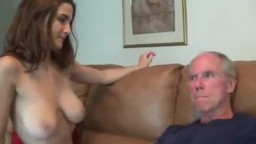 Molly Jane tries to her uncle by hj