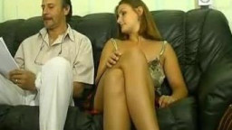 Young chick doing hardcore and having anal sex