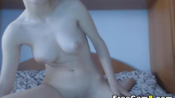 Hot Busty Girlfriend Sucking and Riding Big Dick