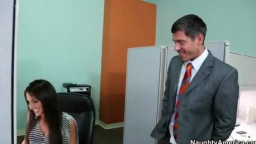 Giselle Leon gets screwed in the office