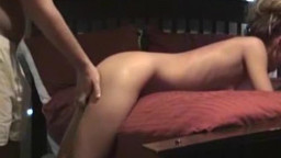 youthful girlfriend getting pounded on camera