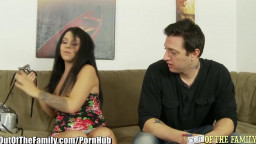 Brother gets in his Step-Sisters shaved vulva