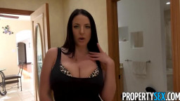 PropertySex - Huge Boobed authentic property agent Angela White craving for peckers