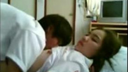 chinese couple Dorm Room hook-up