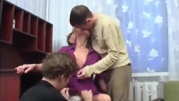 Mature Anal Threesome VR88