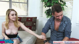 nice yellow-haired Alexia Gold gets beaver munched  and fucked
