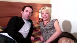 Blond French mum penetrated