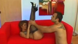whore in stockings getting fucked