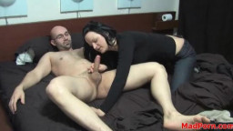 Homemade foreplay and screwing with super hot girl