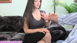 Taking Your MILF Housewife Mobile Phone for Payment with Mandy Flores