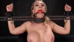 Kagney Linn Karter will get her coochie & nipples played with even as tied-up up