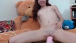 Horse and Dragon Dildo... Who is she?