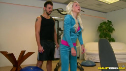 A personal trainer for his or her daughter