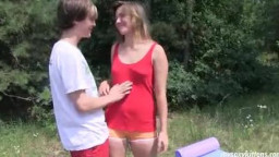 withdrawn teenage  Bella gives oral pleasure and gets banged