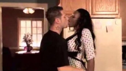 Horny black housewife wants that big cock
