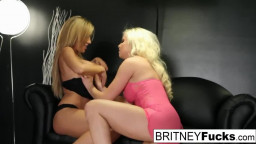 Two hot pornstars play with each others pussies