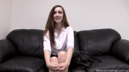 anal casting  with eager wonderful teen