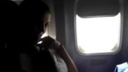 amateur onanism  in airplane