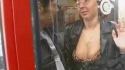 Compilation of damsels  who's masturbes guys in public dull!