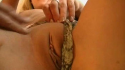A adorable  blondie amateur gf  homemade hardcore activity  with masturbation, nail, blowage  ending