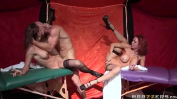 Johnny Sins hooking up Nora Noir and Veronica Avluv